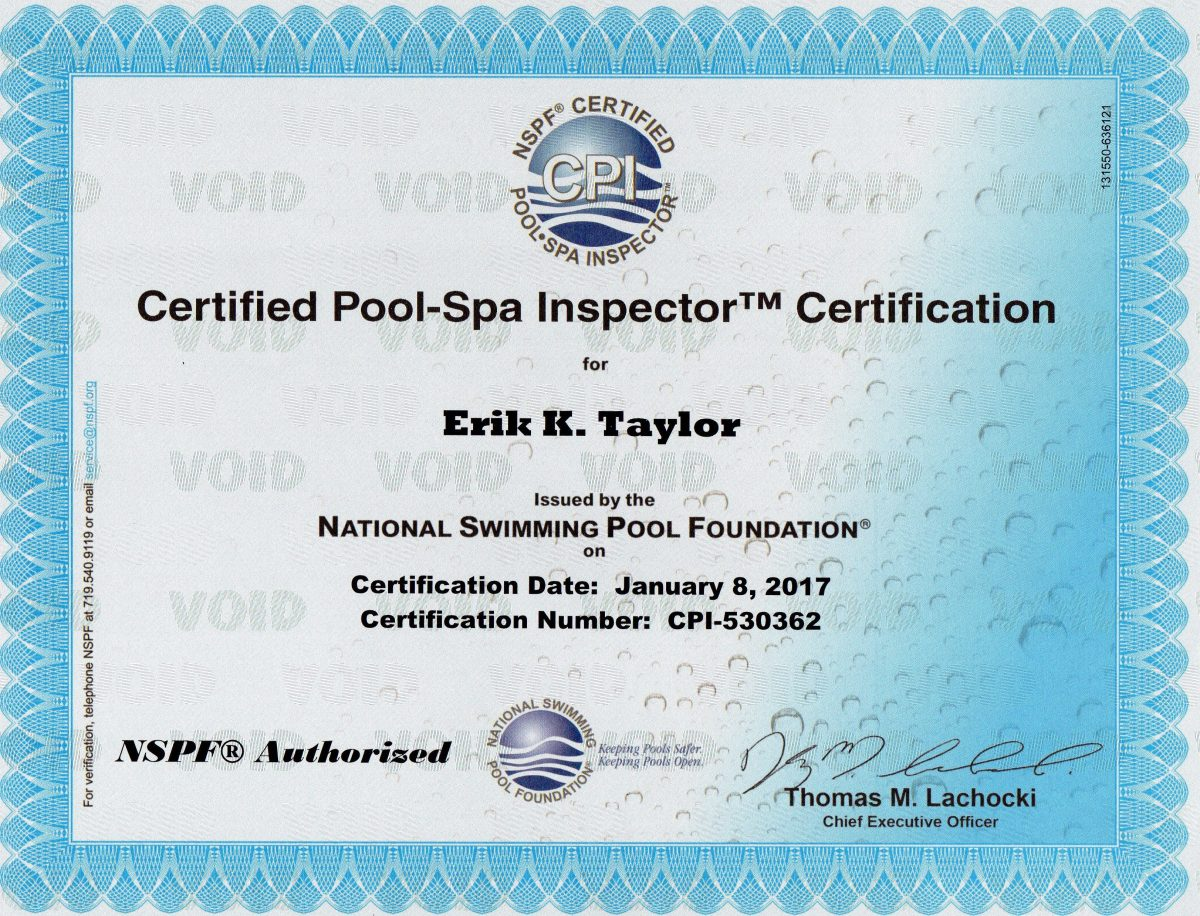Pool Inspection Chlorine King Pool Service Seminole Fl